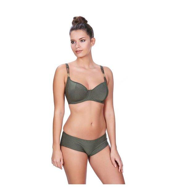 Freya Halter Sweetheart Bikini Top Glam Rock AS3839 Olive