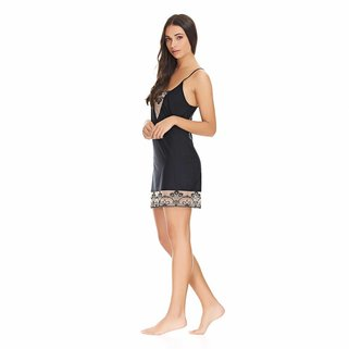 Wacoal Nachthemdje Frivole WE124011 Black Nougat