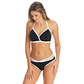 Freya Bikini Slip Back to Black AS3707 Black