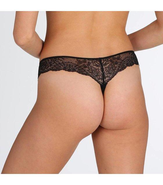 Marie Jo String Slip Dahlia 0602130 Zwart