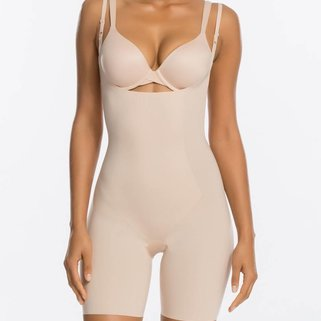 Spanx Shaper Body Suit 10021R Soft Nude