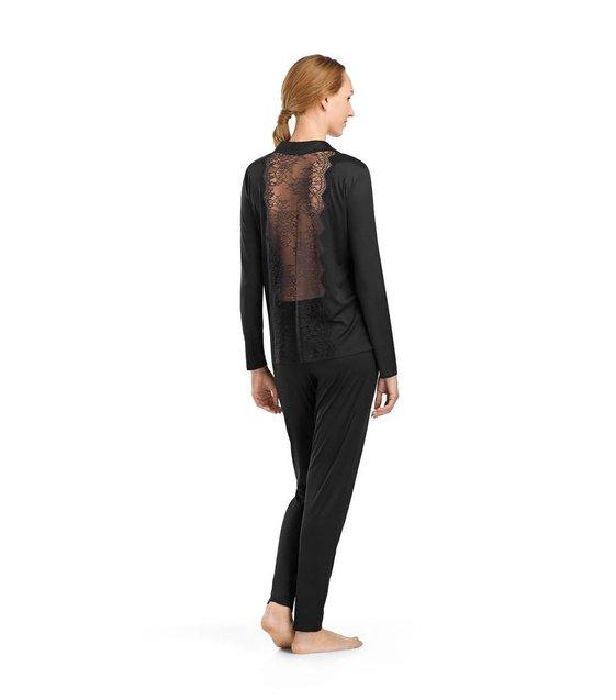 Hanro Pyjama Estelle 076275 Black
