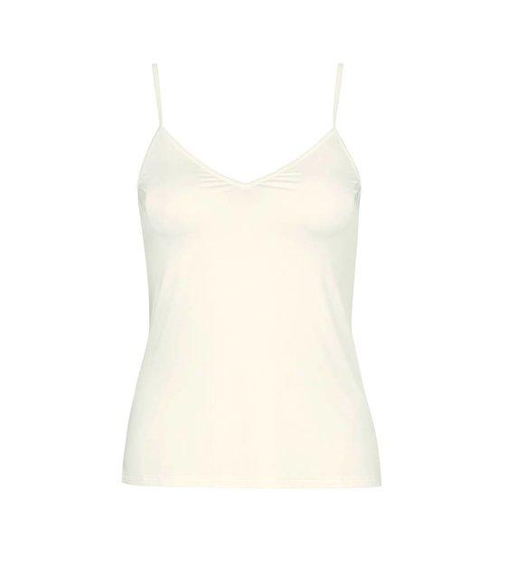 Hanro Spagetti Top Satin de Luxe 071063 off white