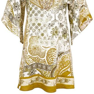 Maryan Mehlhorn Tuniek Orient 3684-608 White Curry