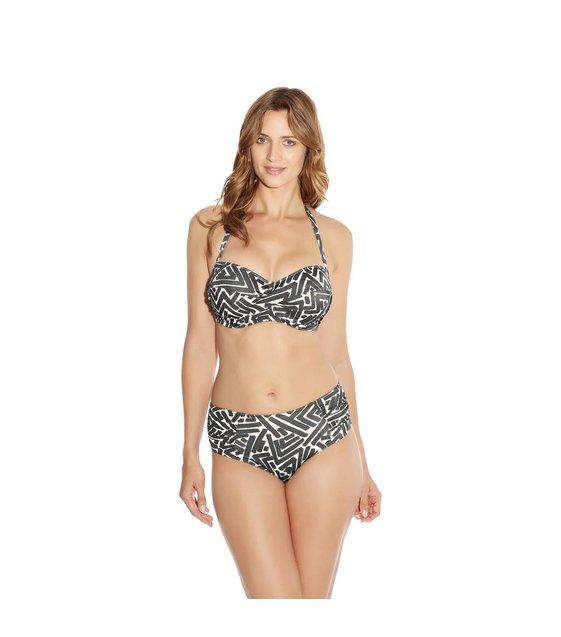 Fantasie Bandeau Bikini Top San Marino FS6075 Grey