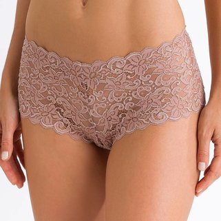 Hanro Slip Moments 071447 Soft Almond