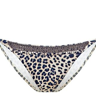 Watercult Bikini Slip Floral Camo 271-016 Leopard