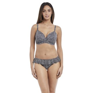 Freya Bikini Slip Run Wild AS4619 Black