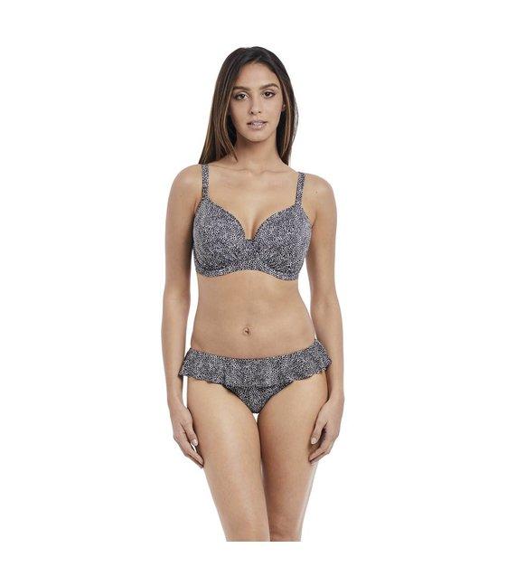 Freya Bikini Slip Run Wild AS4619 Black