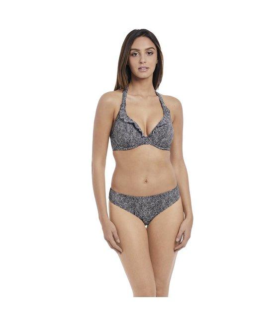 Freya Halter Bikini Top Run Wild AS4614 Black
