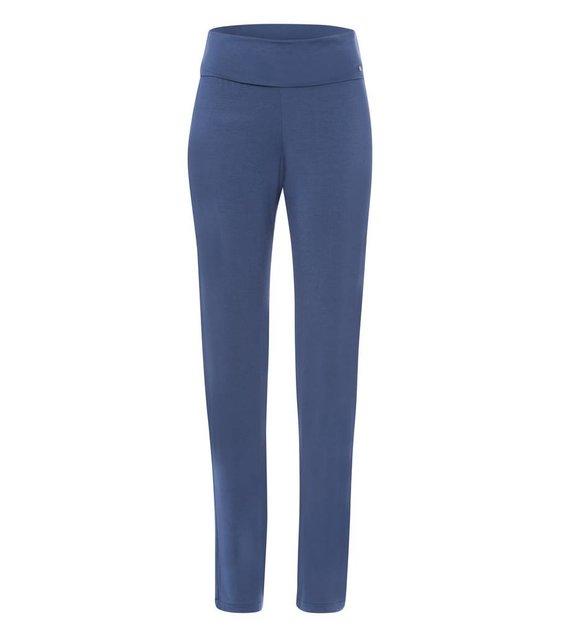 Hanro Broek Yoga 077998 Riviera Blue