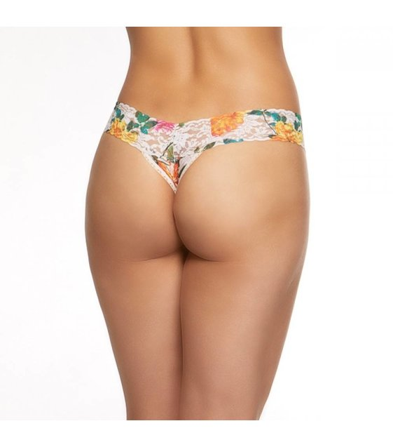 Hanky Panky Low Rise Thong Melissa 6F1581 Multi