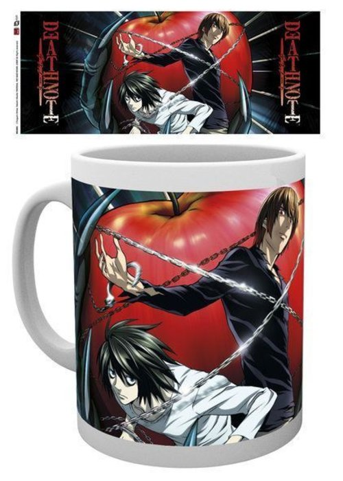Death Note Light & L Mug