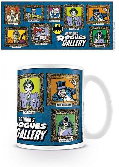 Batman's Rogues Gallery Mug