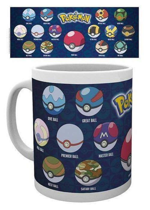 Pokémon Pokéballs Mug