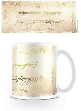 The Lord of the Rings Ring Inscription Mug