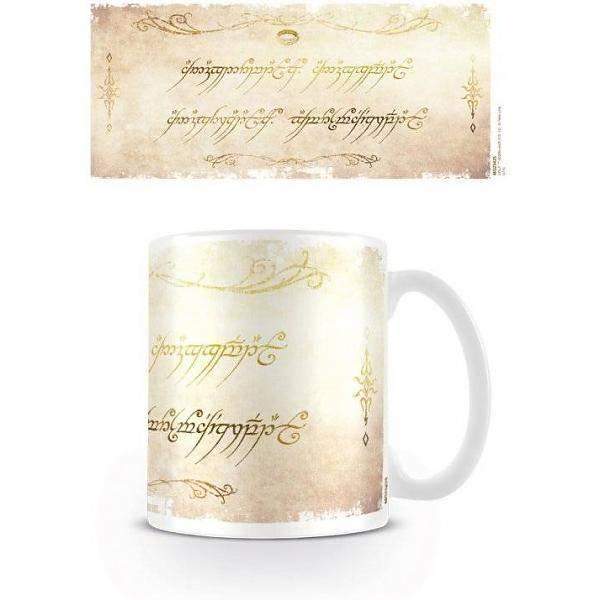 The Lord of the Rings The Lord of the Rings - One Ring Inscription