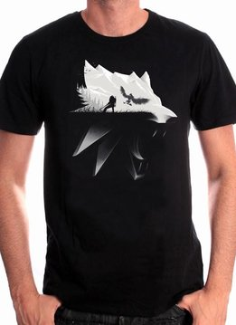 The Witcher Wolf Silhouette - T-Shirt