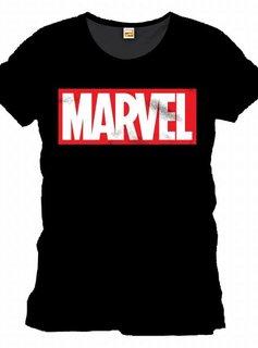 Marvel Marvel Logo Black - T-Shirt