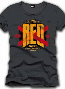 Star Wars Red Resistance Squad - T-Shirt