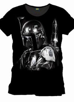 Star Wars Boba Fett Silver - T-Shirt