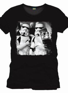 Star Wars Stormtroopers Selfie - T-Shirt