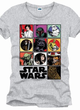 Star Wars Icons - T-Shirt