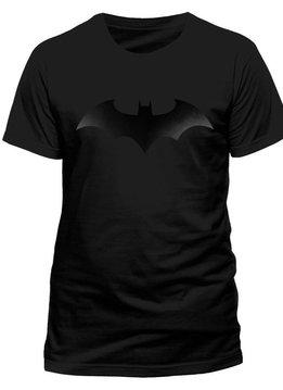 DC Batman Black On Black Logo - T-Shirt