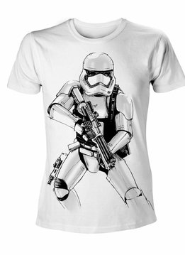 Star Wars Stormtrooper Armed Sketch - T-Shirt