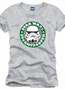 Star Wars Stormtrooper Starbucks - T-Shirt