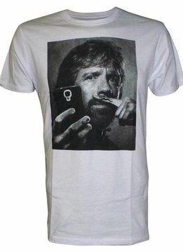 Chuck Norris Mustache - T-Shirt