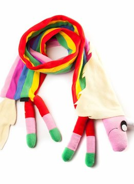 Adventure Time Lady Rainicorn Scarf