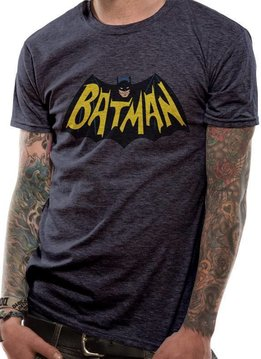 DC Batman Old School Logo 1966 - T-Shirt
