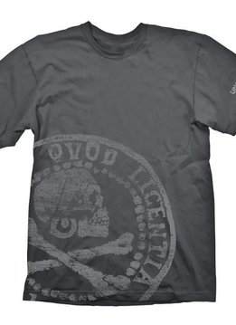 Uncharted Skull Coin - T-Shirt