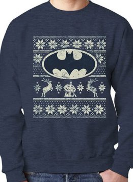 DC Batman Christmas Fair Isle - Sweater