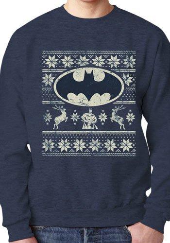 DC Comics Batman Christmas Fair Isle - Sweater