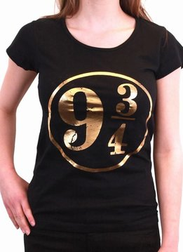 Harry Potter Platform 9¾ Golden - T-Shirt