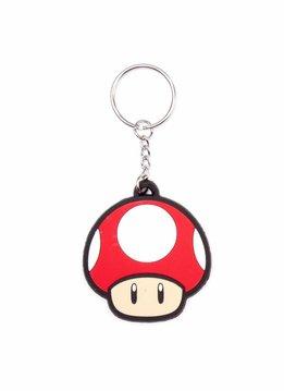 Nintendo Super Mario - Mushroom Keychain