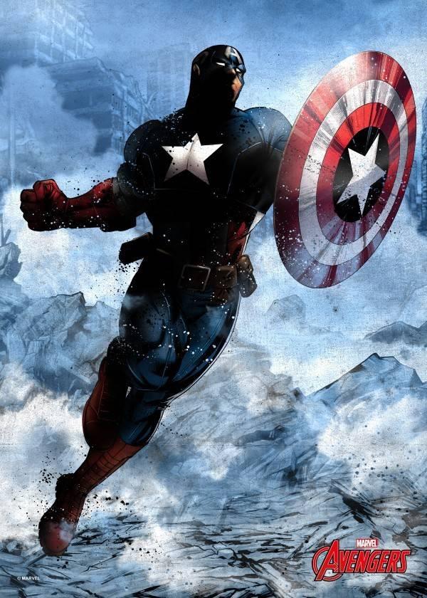 Marvel Captain America - Displate