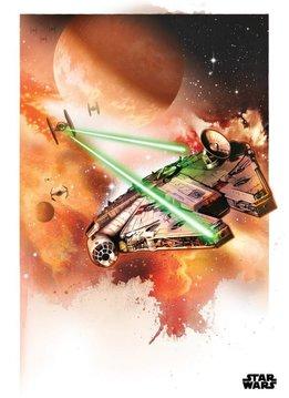 Star Wars The Millennium Falcon - Displate