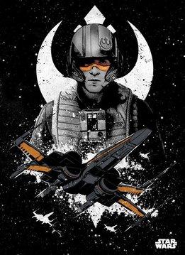 Star Wars Poe Dameron - Displate