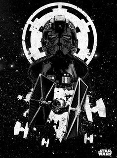 Star Wars Tie Fighter Pilot - Displate