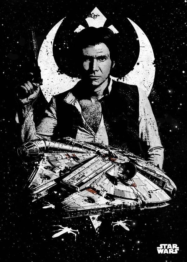 Star Wars Captain Solo - Displate