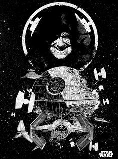 Star Wars Death Star - Displate