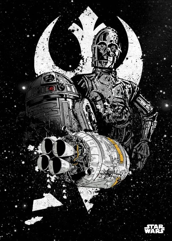 Star Wars Shuttle - Displate