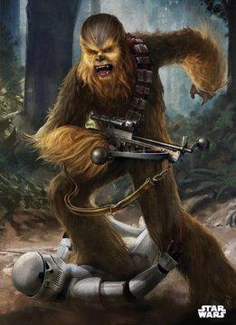 Star Wars Chewbacca - Displate