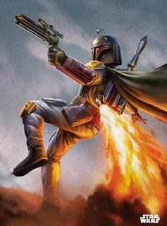 Star Wars Boba Fett - Displate