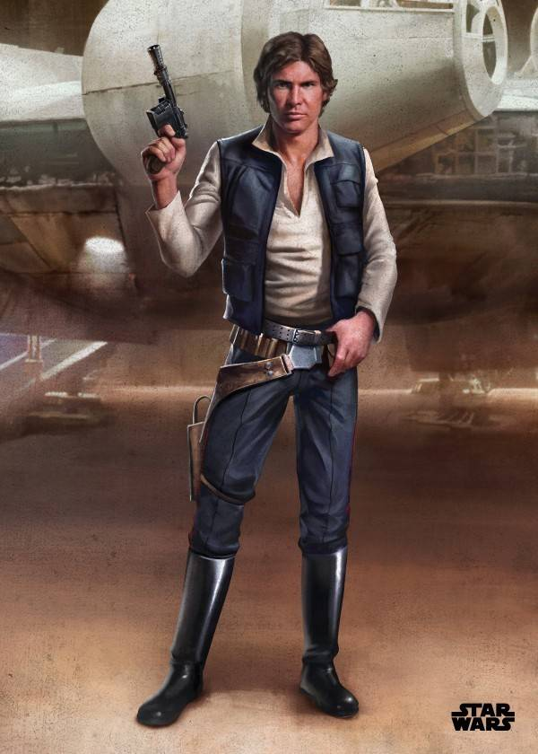 Star Wars Han - Displate