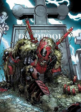 Marvel Deadpool Rising - Displate