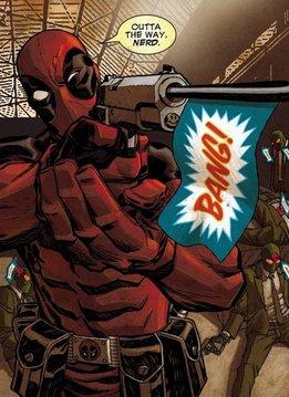 Marvel Outta The Way Nerd - Displate